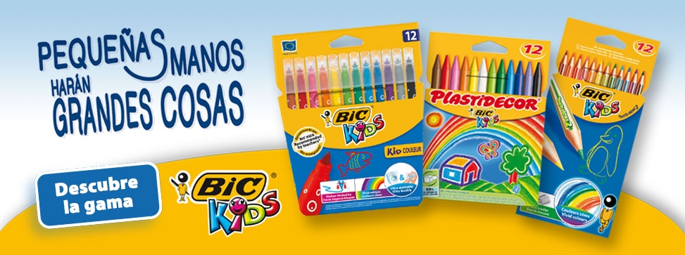 Descubre la gama de coloreado BICKIDS